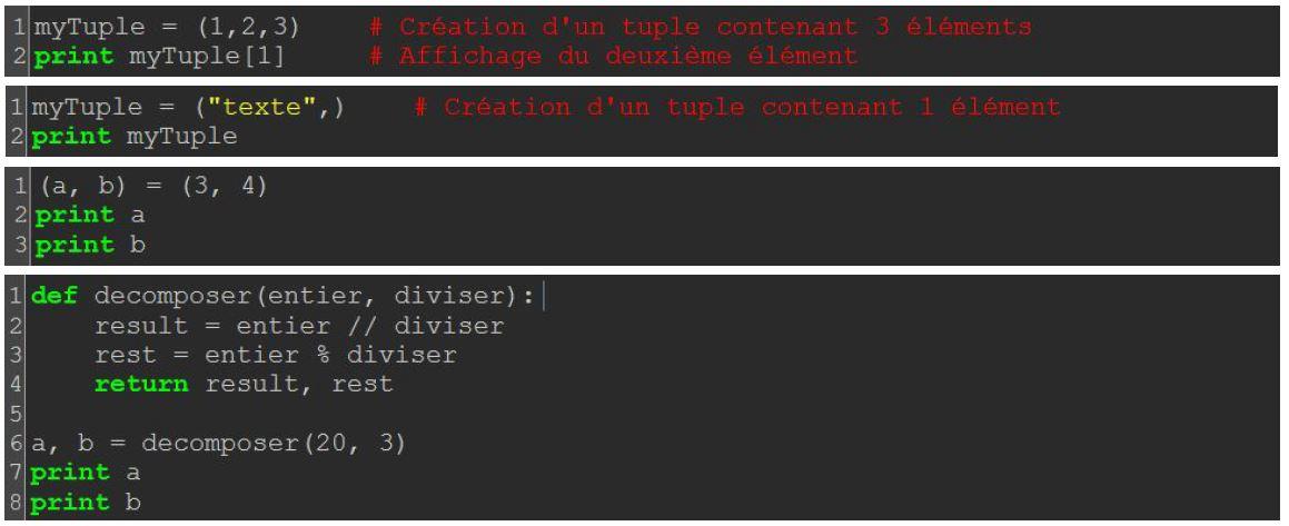 Python Les Listes Tuples Olivier Schmitt